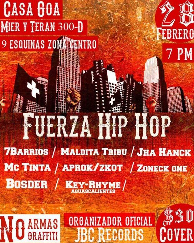 Fuerza Hip Hop @ Casa Goa