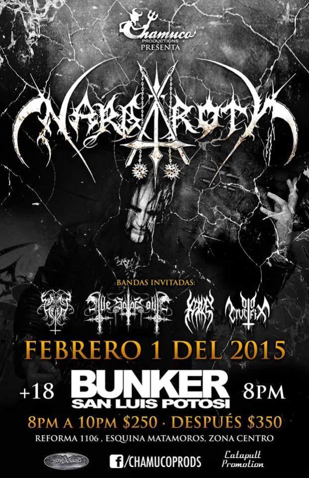 Nargaroth en San Luis Potosí @ Steel Metal Bunker
