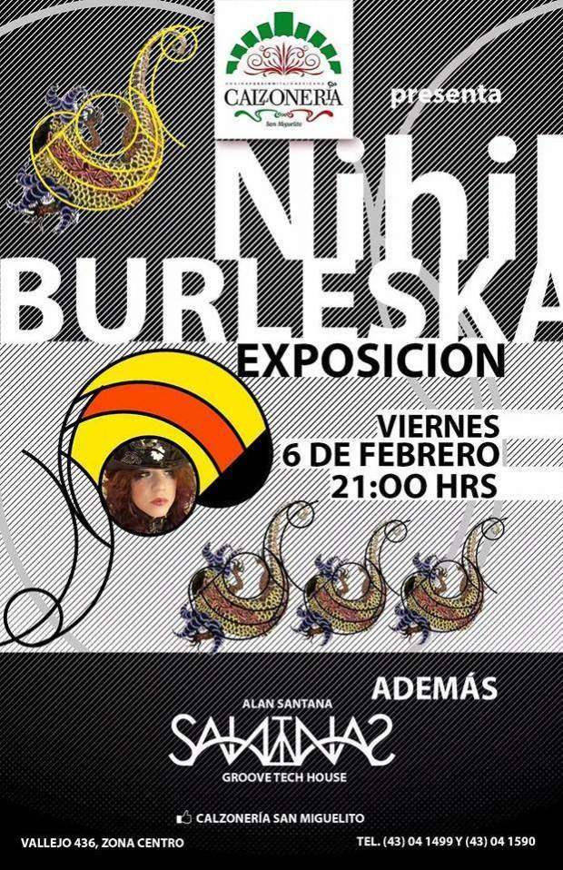 Nihil Burleska (exposición) @ Calzonería San Miguelito | San Luis Potosí | San Luis Potosí | México