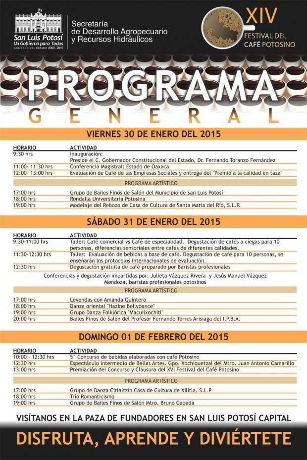 Programa Festival CAfé