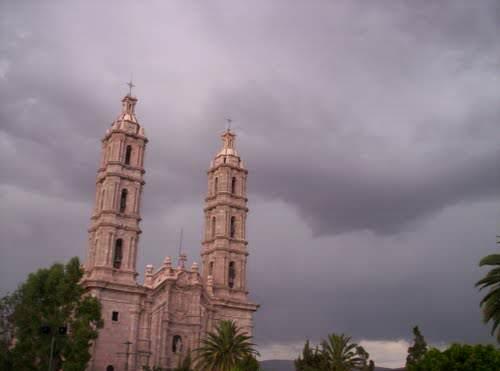 San Luis Potosí nublado