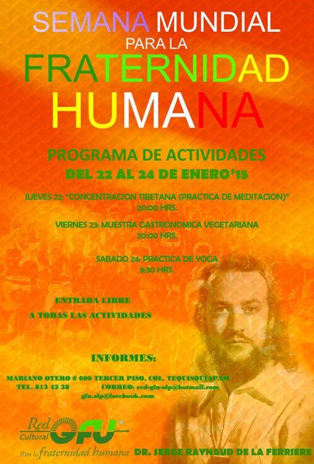 Semana Mundial para la fraternidad humana