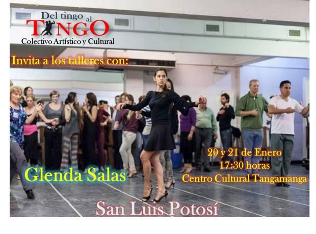 Seminario con Glenda Salas @ Centro Cultural Municipal Tangamanga | San Luis Potosí | San Luis Potosí | México