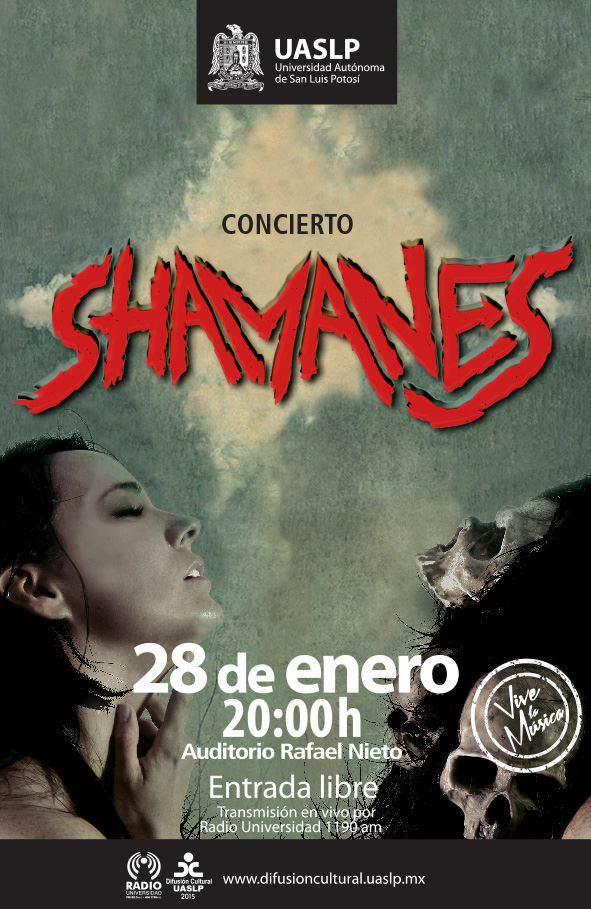 Concierto de Shamanes @ Auditorio Rafael Nieto