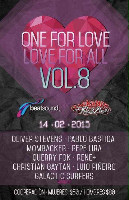 One For Love, Love For All Vol.8 @ Rockabilly Bar