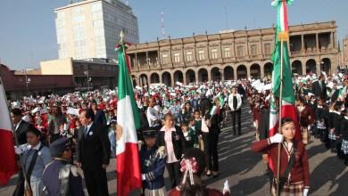 Photo of Se celebra el Día de la Bandera en San Luis Potosí