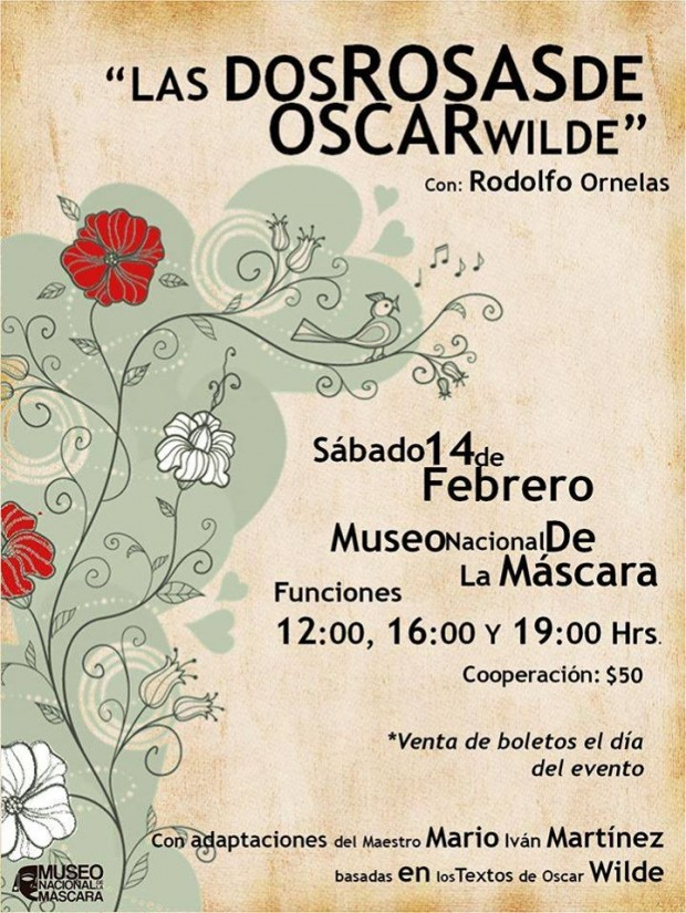 Las Dos Rosas de Oscar Wilde