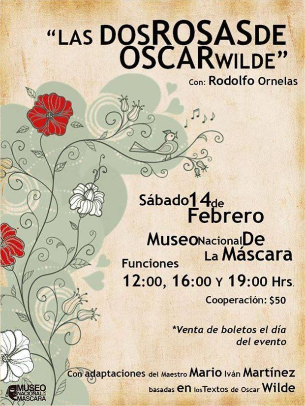 Las dos rosas de Oscar Wilde @ Museo Nacional de la Máscara | San Luis Potosí | San Luis Potosí | México