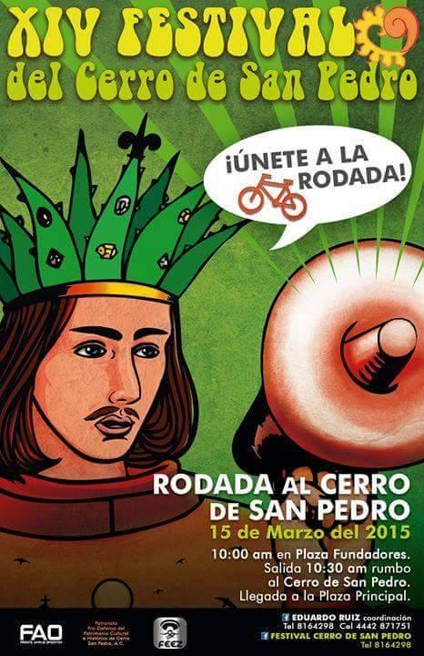 Rodada Al 14° Festival De Cerro De San Pedro @ Plaza de Fundadores | Chihuahua | Chihuahua | México