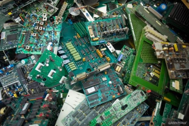 basura eléctronica