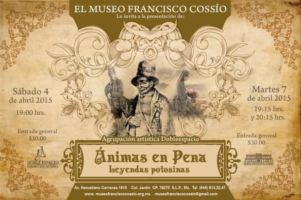 Animas en Pena @ Museo Francisco Cossío