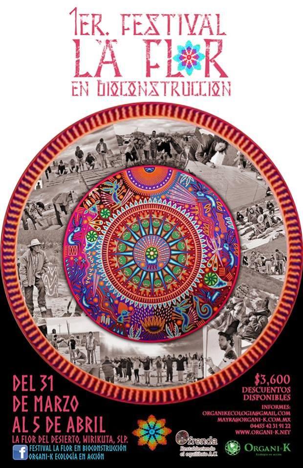 1er Festival La Flor en Bioconstrucción @ Real de Catorce | Real de Catorce | San Luis Potosí | México
