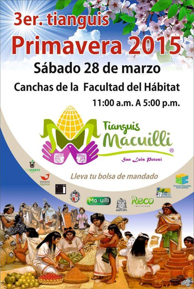 3er tianguis Primavera 2015 @ Facultad del Hábitat | San Luis Potosí | San Luis Potosí | México