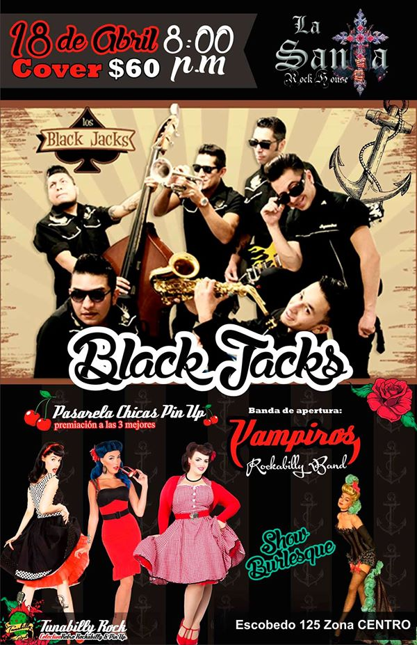 Los Black Jack @ La Santa Rock House