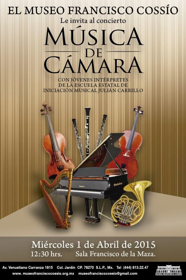 Concierto Música de Cámara por la Escuela Estatal Julián Carrillo @ Museo Francisco Cossío