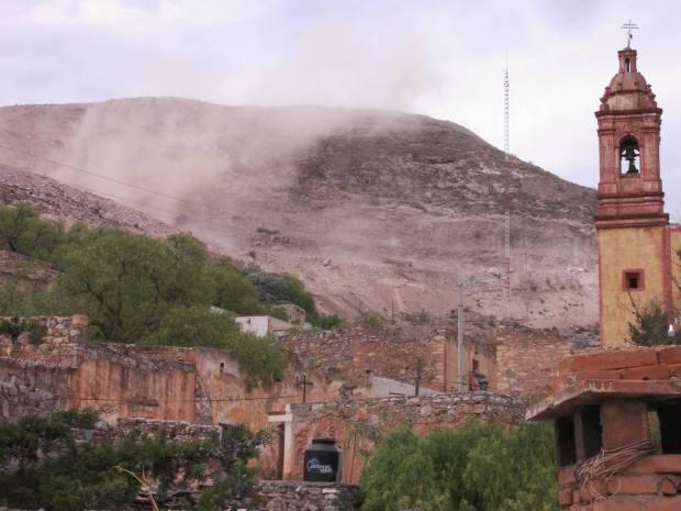 Explosión Cerro San Pedro