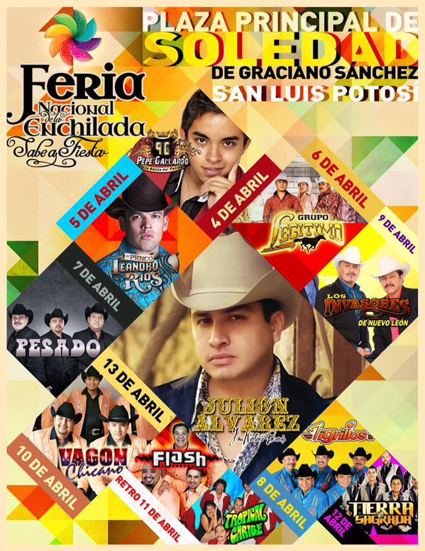 Feria Nacional de la Enchilada 2015 @ Soledad de Graciano Sánchez | Soledad de Graciano Sánchez | San Luis Potosí | México