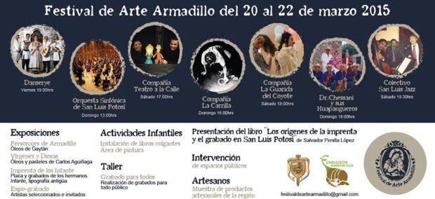 Festival de Arte Armadillo 2015 @ Armadillo de los Infante | Armadillo de Los Infante | San Luis Potosí | México