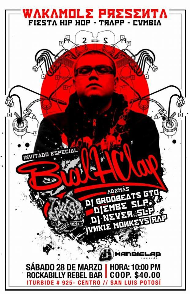 Fista Hip-Hop Trap Cumbia @ Rockabilly Bar