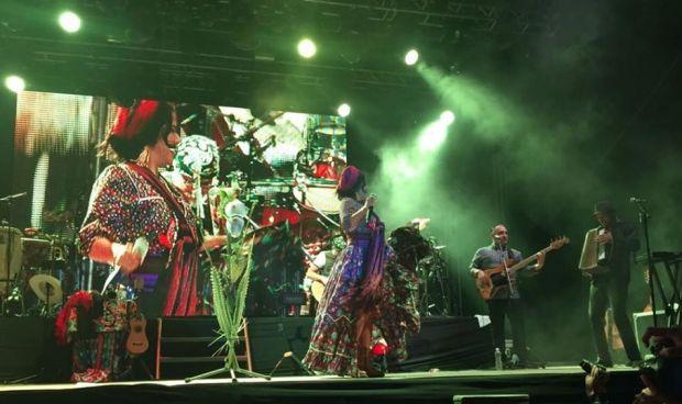 Lila Downs en Xilitla concierto