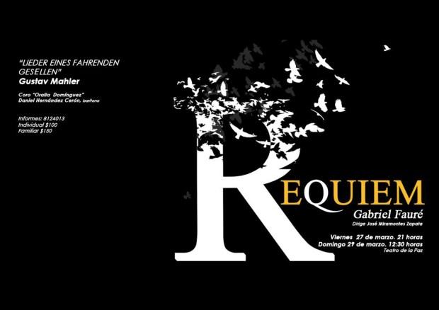 Concierto Requiem de Gabriel Fauré @ Teatro de la Paz