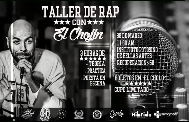 Taller de Rap con El Chojin @ Instituto Potosino de Bellas Artes