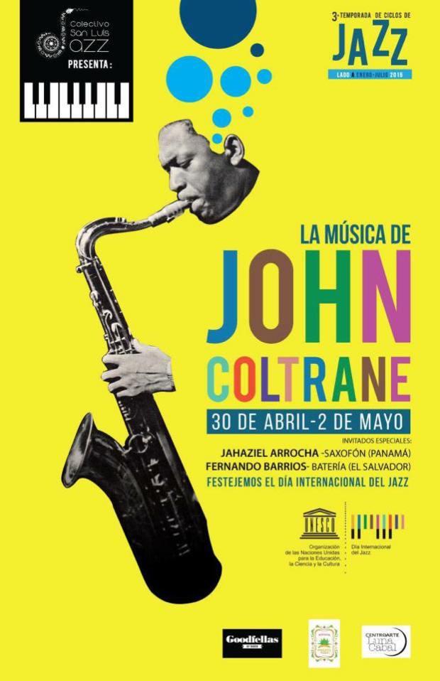 3er Ciclo de Jazz - La Música de John Coltrane @ Centro de Arte Luna Cabal | San Luis Potosí | San Luis Potosí | México