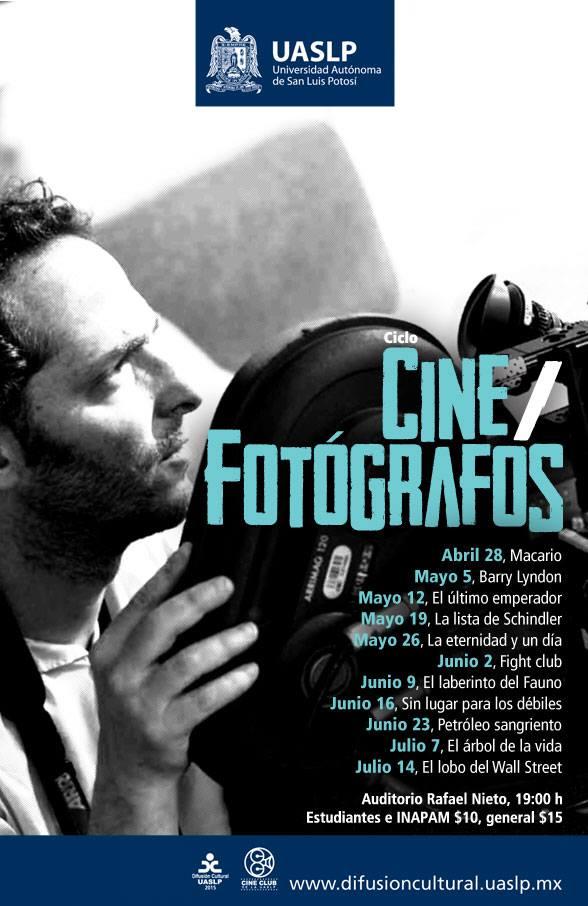 "Ciclo de Cine ""Fotógrafos"" @ Auditorio Rafael Nieto"