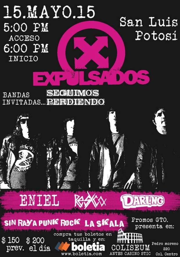 Expulsados en San Luis Potosí @ Coliseum | San Luis Potosí | San Luis Potosí | México