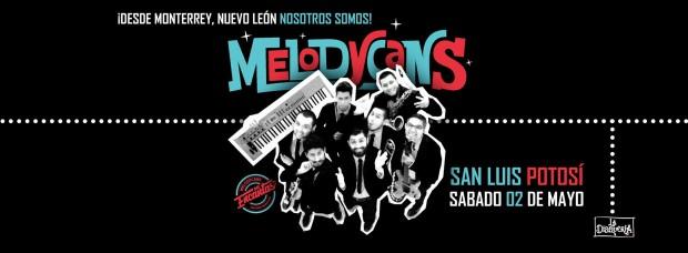 Melodycans en San Luis Potosí