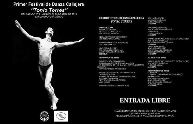 Primer  Festival de Danza Callejera Tonio Torres