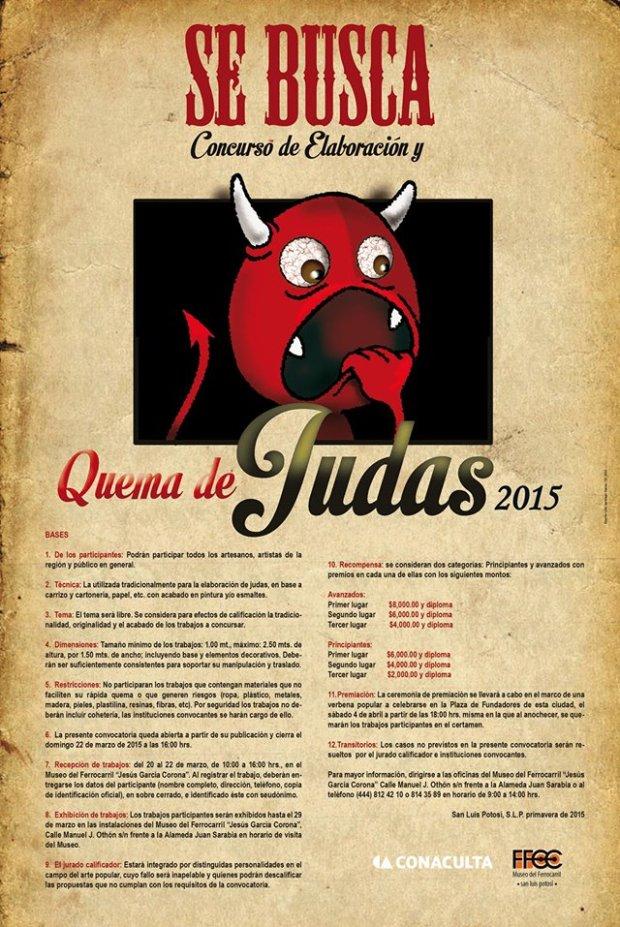 Quema de Judas 2015 @ Plaza de los Fundadores | San Luis Potosí | San Luis Potosí | México
