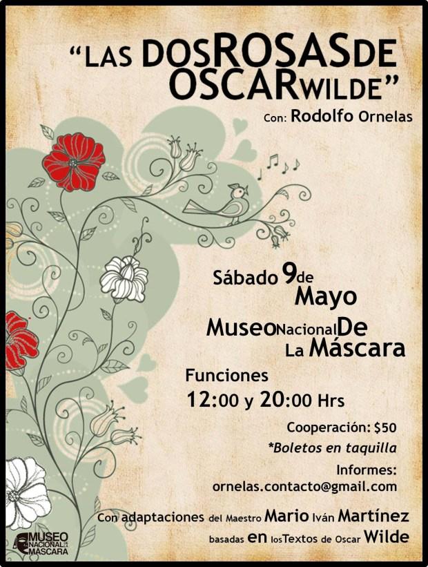 Las dos rosas de Óscar Wilde @ Museo de la Máscara | San Luis Potosí | San Luis Potosí | México
