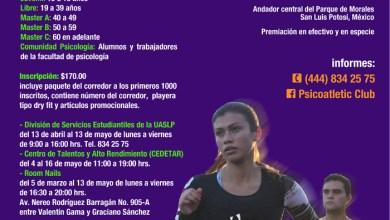 Photo of UASLP invita a participar en la carrera atlética 10k Corriendo con Pasión.