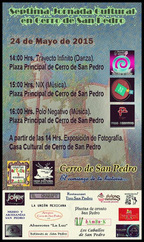 Séptima Jornada Cultural en Cerro de San Pedro