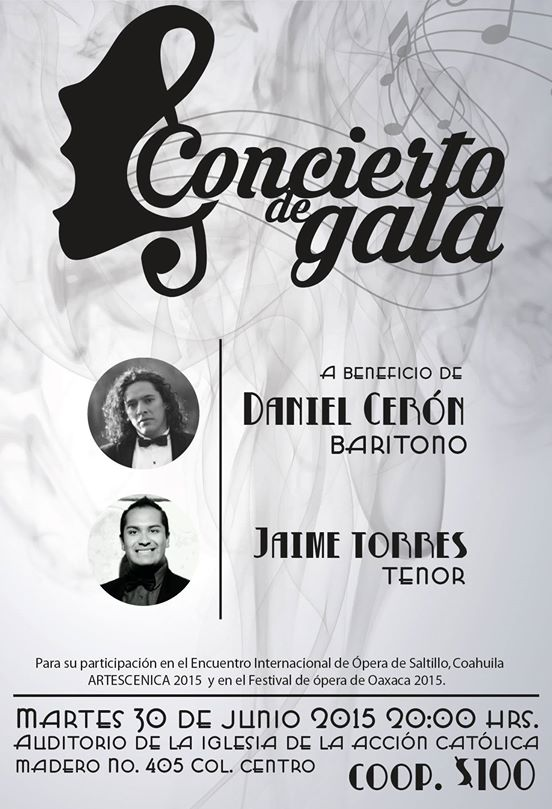 Concierto de Gala @ Auditoria de la Iglesia Acción Católica