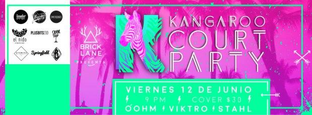 Kangaroo Court Party @ Springfiel Wings and Fries | San Luis Potosí | San Luis Potosí | México