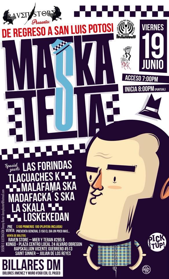 Maskatesta en San Luis Potosí