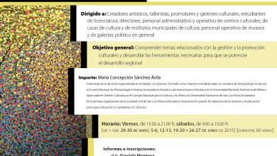 Photo of Centro de las Artes imparte programas de capacitación y gestión cultural en la Zona Media