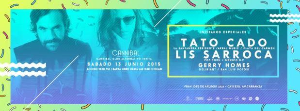 Tato Cado /  Lis Sarroca @ Cannibal Club