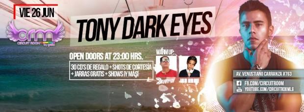 Tony Dark Eyes