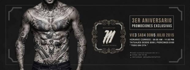 3er Aniversario Megawacko Tattoo