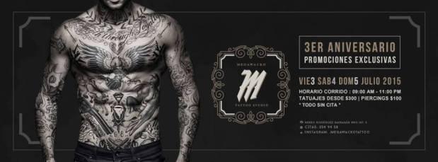 3er Aniversario Megawacko Tattoo @ San Luis Potosí | San Luis Potosí | México