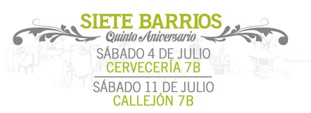 7 Barrios Aniversario