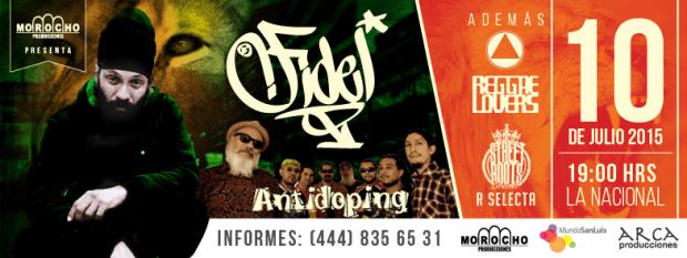 Fidel Nadal y Antidoping en San Luis Potosi @ La Nacional | San Luis Potosí | San Luis Potosí | México