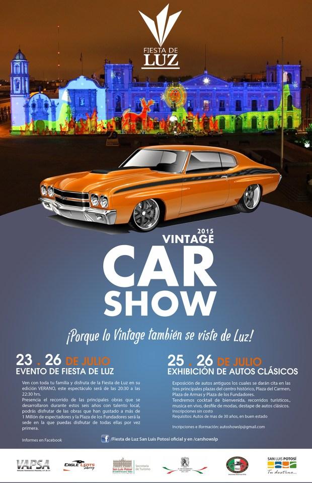 Vintage Car Show 2015 @ Plaza de los Fundadores | San Luis Potosí | San Luis Potosí | México