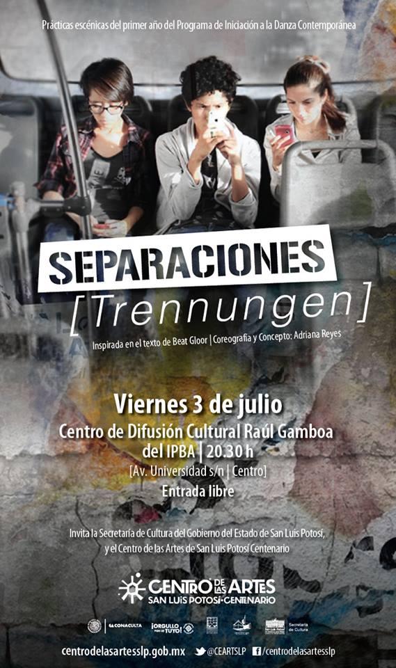 Separaciones (Trennungen) @ Centro de Difusión Cultural Raúl Gamboa