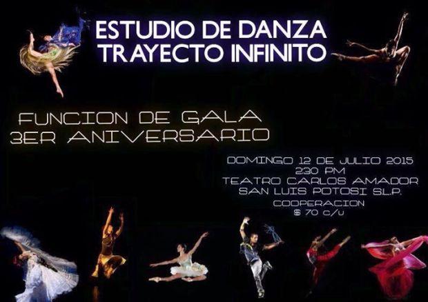 3er Aniversario de Estudio de Danza Trayecto Infinito @ Teatro Carlos Amador | San Luis Potosí | San Luis Potosí | México
