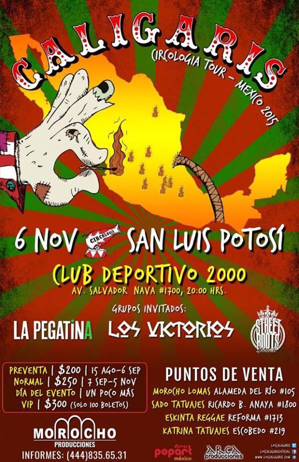 Caligaris en San Luis Potosí