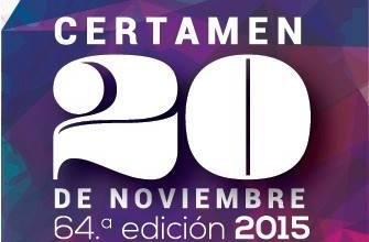 Photo of Abierta la convocatoria al Certamen 20 de Noviembre 2015